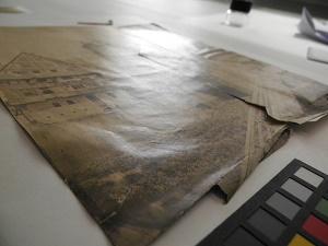 ENSBA - Avant traitement - Photographie déchirée - Aspect de surface