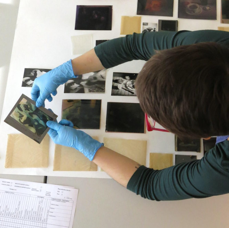 Survey of a photographic collection - preservation of photographs - Ottawa Ontario